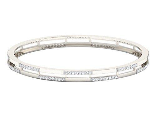 Libertini bracelet argent 925 femme serti de Diamant (GH Couleur