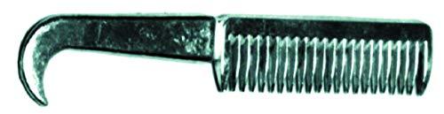 Partrade Curry Comb - Partrade P - Aluminum Hoof Pick Comb For Horses