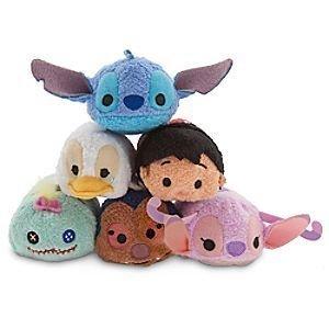 Disney Store Lilo & Stitch Tsum Tsum 3.5 Complete Set of 6 by Disney Interactive Studios