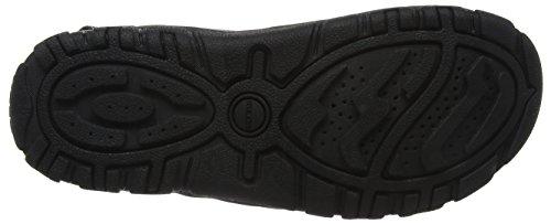 Geox Uomo Sandal Strada D, Sandalia con Pulsera Para Hombre Gris (Grey/black)