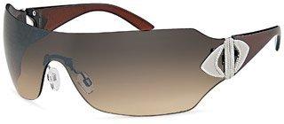 Damen Sonnenbrille Art. 9008, mit durchgängigem Panoramaglas -erhältlich in verschiedenen Farben