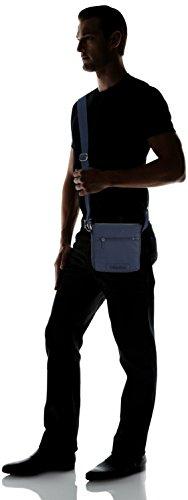 Teal REPORTER piel Azul cm H Wing de METRO Calvin 453 B Bolso WITH Klein sintética 19x22x7 x hombro x Jeans hombre T para Blue de FLAP qwv1Stw