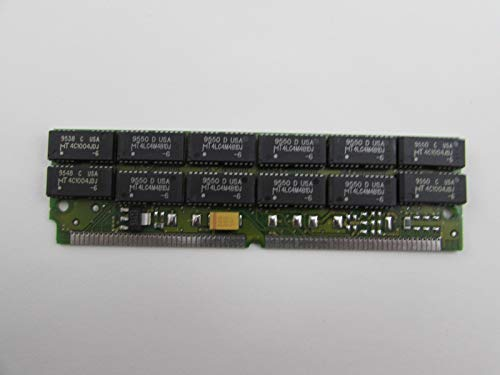 - Micron MT12D436M-6 16MB FPM DRAM 60ns 72-Pin SIMM Single-in-Line Memory Module