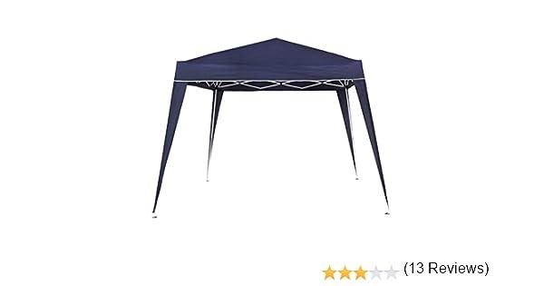 Aktive - Cenador plegable de 300 x 300 x 240 cm, poliéster, color azul (ColorBaby 53859): Amazon.es: Jardín