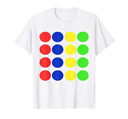 Twister Game costume Tshirt Halloween Matching group Shirt