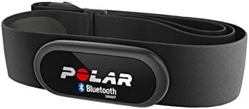Polar H6 HR Sensor Bluetooth - Transmisor de frecuencia cardiaca, compatible con iPhone 5/ 4S, otros dispositivos Apple y pulsómetros Polar, talla M-XXL (7 x 0.9 x 3 cm): Amazon.es: Deportes y aire libre
