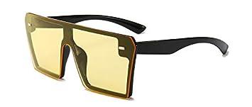 ZUIBADUDU Gafas de Sol Gafas de Sol cuadradas de Gran ...