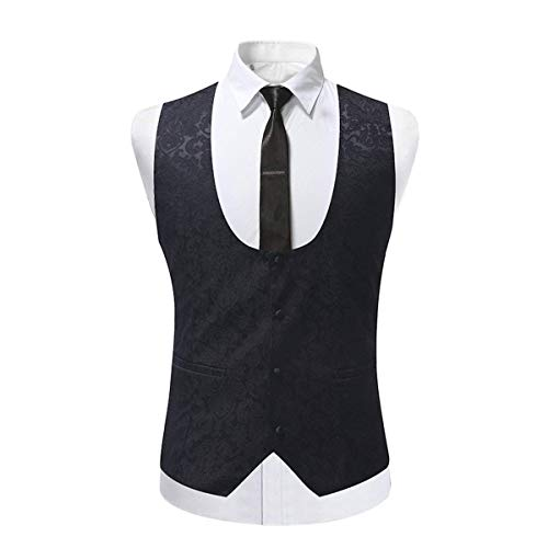 Tuxedo Breasted Dîner De Slim Les Pour Mariage Schwarz Vêtements Col Châle Simple Gilets Business Costume La Fit 3 twFqA4