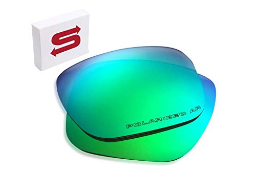 Oakley Holbrook Replacement Lenses (Green) - Polarized, 1.4 mm Thick, AR Coated, Added UV Protection, Fits Perfectly, for Men & ()