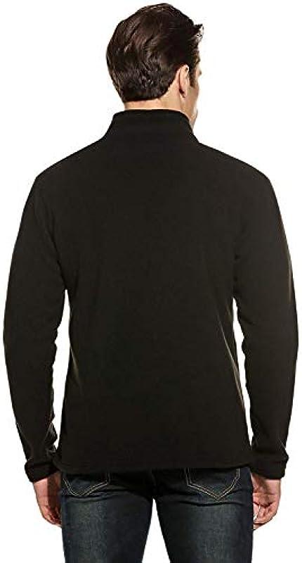 Męski sweter z polaru sweter stÓjka bluza wiosna jesień elegancki wygodny rozmiar długi rękaw gÓrne części topy z zamkiem błyskawicznym ubranie: Odzież