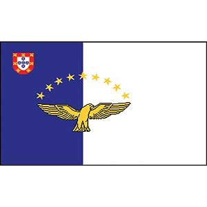 Flag Country Azores Poly 2ft X 3ft ()