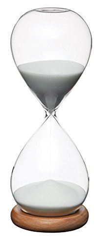 Natural Elements Hourglass Timer, 8x21.5cm, Gift Tagged