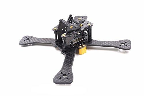 YUFAY Quadcopter Quad FPV Racing Race Drone X Frame GEPRC TX5 5inch Frame 210mm Carbon Fiber Multirotor Frame with 5V&12V PDB for RC Quad Quadcopter Drone FPV Kit