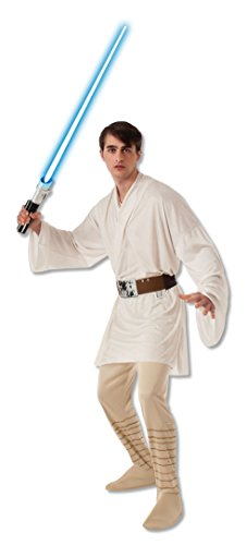 Rubie's Men's Star Wars Adult Luke Skywalker, Multicolor, X-Large