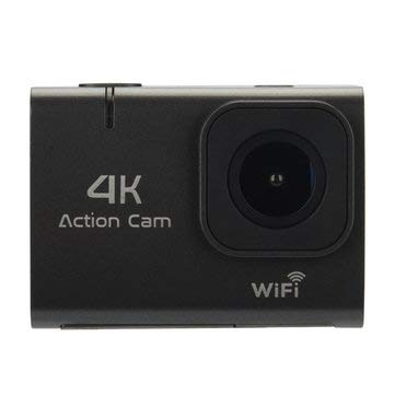 4K WiFi Sport Camera 1.8″ Touch Screen Vlog Camera for Youtube Waterproof DV Video Action Camera 140° Wide Angle – Sport Camera & Camcorder Sport Cameras – (Black) – 1 x Bluetooth Bicy
