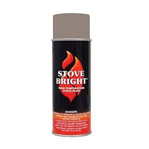 Stove Bright High Temp Paint - New Bronze
