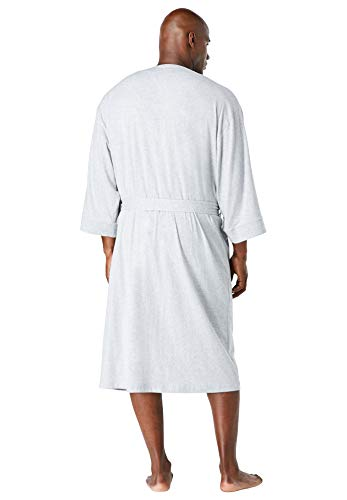 KingSize Men's Big & Tall Cotton Jersey Robe