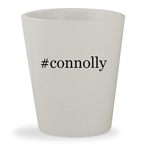 #connolly - White Hashtag Ceramic 1.5oz Shot - Glasses Jennifer Lawrence
