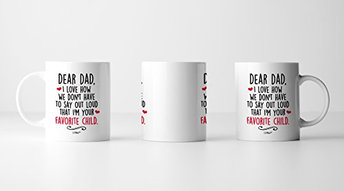 Fathers Day Gifts From Daughter Son Dad Birthday First Mug Gift Cool Happy