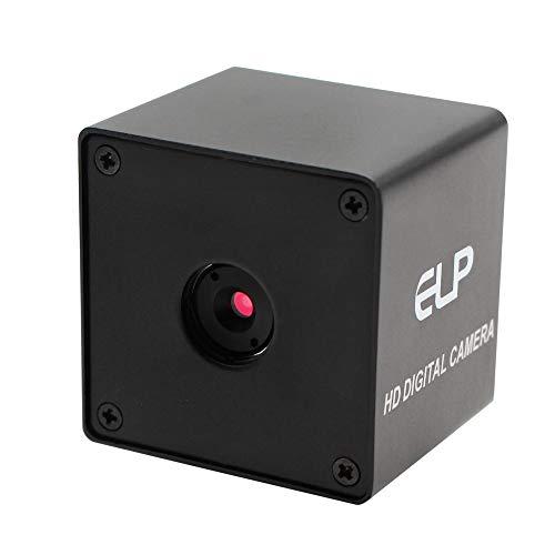 Autofocus USB Webcamera 1080P 100 Degree Wide Angle USB Camera with CMOS OV2710 Image Sensor, 2MP USB with Camera HD 60fps Mini CCTV Web Camera with Mini Box Case Video -