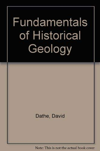 Fundamentals of Historical Geology