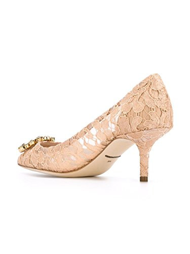 Femme Gabbana Beige Escarpins Cd0066al19880240 E Soie Dolce xUqw4TP