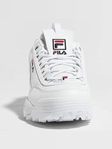 Low Fila Weiß Disruptor 10103021fg Turnschuhe UUxTq5r7