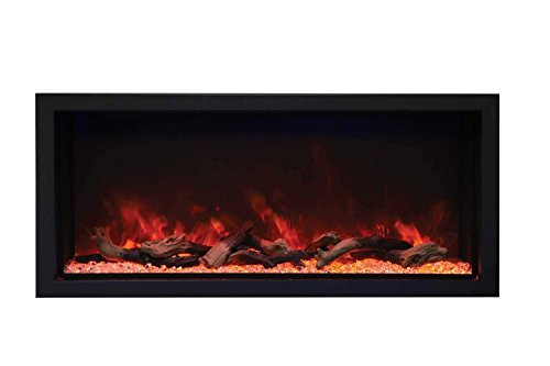 Cheap Amantii Indoor/Outdoor Built-in Electric Fireplace (BI-50-DEEP-XT) Extra Tall 50-Inch Black Friday & Cyber Monday 2019