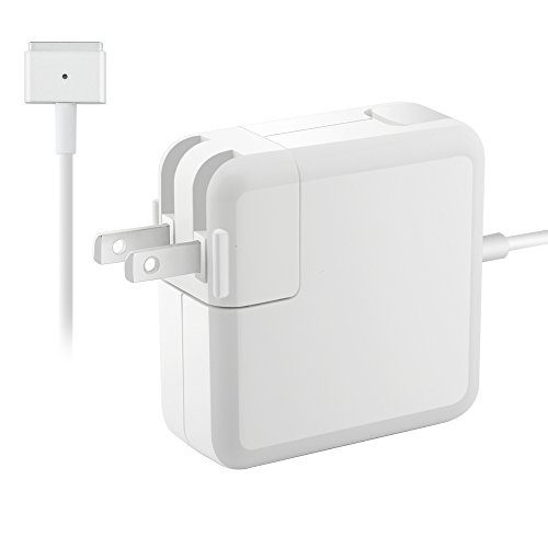 Great Macbook Air Charger Replacement 60W Magsafe 2 T-tip Connector AC Power Adapter Charger for Macbook Air 11 inch &13 inch (Late 2012 & After)