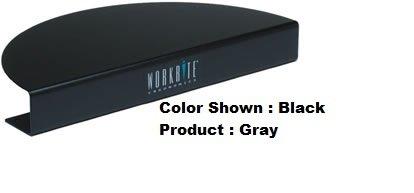 Compact Desk Corner Diagonal Size: 1 1/2'', Color: Grey