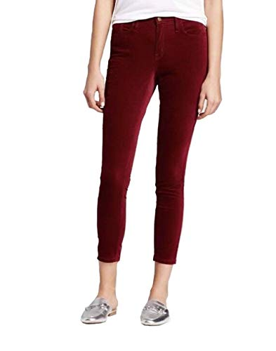 Mossimo Women's High Rise Skinny Velveteen Stretch Jeans - (Burgundy, 16) from Mossimo
