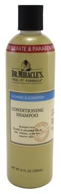 Dr. Miracles Cleanse & Condition Shampoo 12oz (3 Pack)
