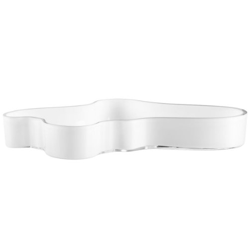 Iittala Aalto White Bowl 50mm By 380mm