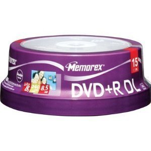 DVD+RDL 8.5GB 8X L 15SPN (32025715) - by Memorex