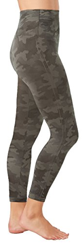SPANX Look At Me Now Cropped Seamless Leggings (20099r), Sage Camo, XS by SPANX (Image #1)