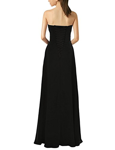 Lemai Women's A Line Corset Sweetheart Pleats Prom Dress