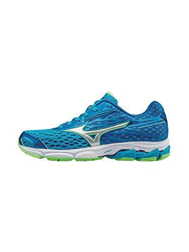 Mizuno Women's Wave Catalyst 2 Running Shoe, Purple/Orange Popsicle, 8.5 B US