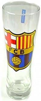 FC Barcelona Official Tall Crest Pint Glass