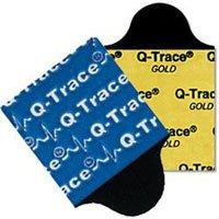 1787929 PT# 30807732 Electrode Resting EKG Q-Trace Gold Gel Adult 1x7/8'' 5500 100/Pk Made by Covidien