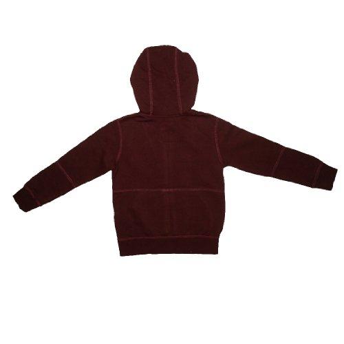 Volcom Boys Warm Surf & Skate Zip-Up Hoodie Sweatshirt Jacket M/5 Dark Red