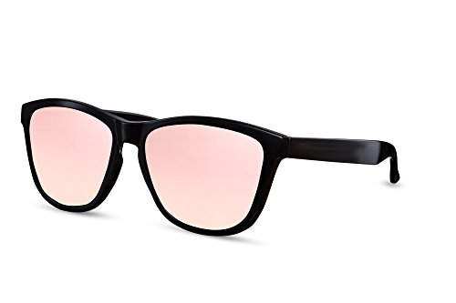 008 Gafas Cheapass Nerd Sol Hombre Mujer Wayfarer Reflejado Ca de Negro HwCq8dw