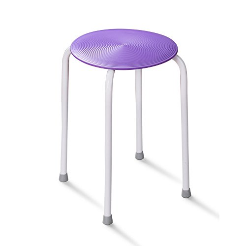 HotelSpa® Soft Touch Slip-free All Purpose Shower Chair in Assorted Colors (Purple)