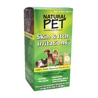 King Bio Natural Pet Cat Skin and Itch Irritations - 4 Oz, Pack of 4