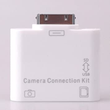 2-in-1 iPad camera connection kit USB-Adapter + SD card reader ...
