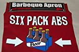 Barbeque (Barbecue) Apron: Six Pack ABS