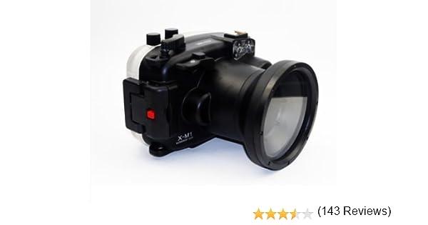 carcasa submarina para cámara Fujifilm X-M1 16-50mm: Amazon.es ...