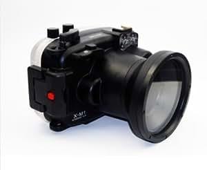 carcasa submarina para cámara Fujifilm X-M1 16-50mm - Carcasa acuática para cámaras