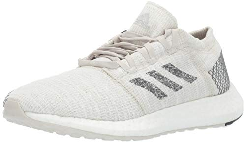 adidas Unisex Pure Boost Go Running Shoe, neon-Dyed/Grey/raw White, 6 M US Little Kid (Adidas Ultra Boost Sneakersnstuff X Social Status)