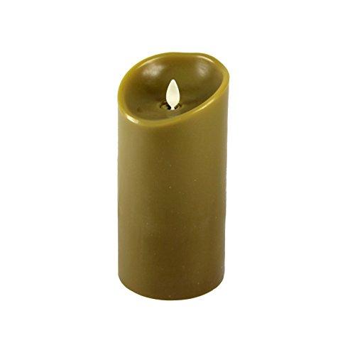 "Luminara 02070300-03-2 7"" Scented Flameless Candle, Sage"