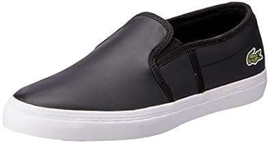 Lacoste Gazon BL 1 Women's Fashion Shoes, BLK, 10 US